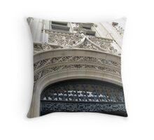 Biltmore Architecture Throw Pillow