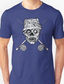 Fishing Zombie Unisex T-Shirt
