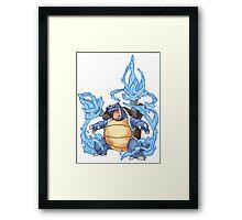 Blastoise Framed Print