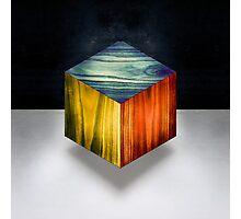 RGB Cube Photographic Print