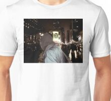 Alone in crowded New York Unisex T-Shirt