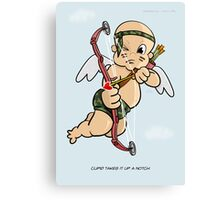 Cupid Upgrade Canvas Print