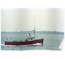 Fishing Boat - Portland, Maine Poster