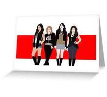The Pretty Little Liars Greeting Card
