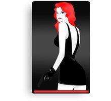 I Spy Something Red... Canvas Print