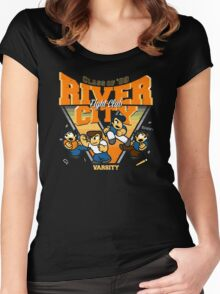 River City FC Women's Fitted Scoop T-Shirt