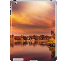 Sunset over Jamaica Pond iPad Case/Skin