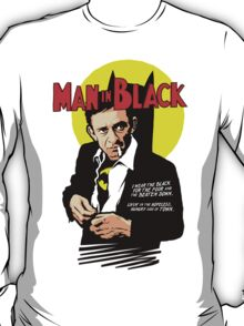 Man in Black T-Shirt