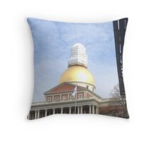 State House Prophylactic Throw Pillow