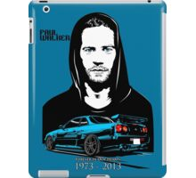 Paul Walker 01 iPad Case/Skin