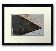 Cleaver 2 Framed Print