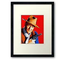 John Wayne in Rio Bravo Framed Print