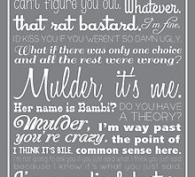 Dana Scully Quotes by projectphile