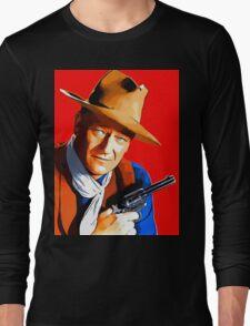 John Wayne in Rio Bravo Long Sleeve T-Shirt
