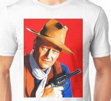 John Wayne in Rio Bravo Unisex T-Shirt