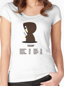 The Thief Women's Fitted Scoop T-Shirt