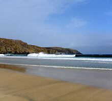 Valtos Beach - Isle of Lewis by English Landscape Prints