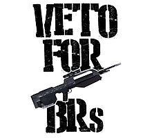 Halo 3 Veto For BRs Photographic Print