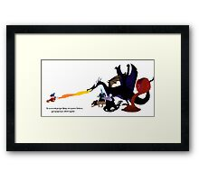 Fantasmic Framed Print
