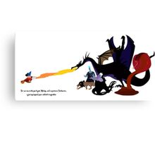 Fantasmic Canvas Print
