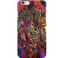astronaut on the monstro cosmicship mission iPhone Case/Skin