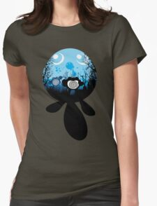 Poliwag Evolution Womens Fitted T-Shirt