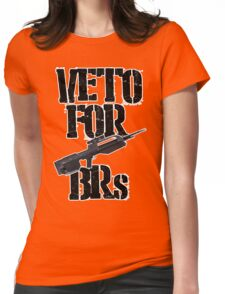 Halo 3 Veto For BRs Womens Fitted T-Shirt