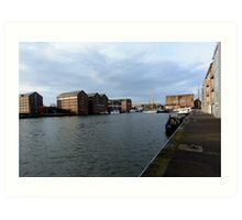 Gloucester Docks Art Print
