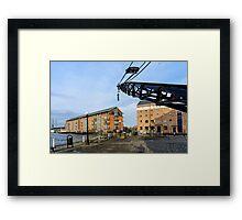 Gloucester Docks Framed Print