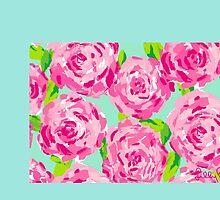 Flower design by OlivianaB