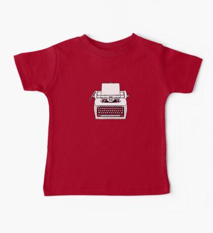 typewriter Baby Tee