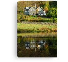 Rydal Water Reflections Canvas Print