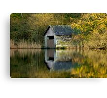 Rydal Water Boathouse Canvas Print
