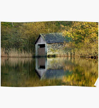 Rydal Water Boathouse Poster