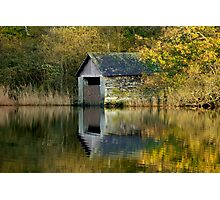 Rydal Water Boathouse Photographic Print