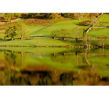 Rydal Water Reflections Photographic Print