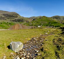 Coppermine Valley by English Landscape Prints
