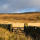 Below Stanage Edge by John Dunbar