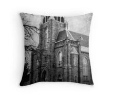 St Nicholas Roman Catholic Church Throw Pillow