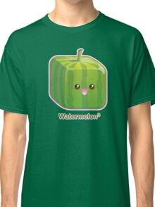 Cute Square Watermelon Classic T-Shirt