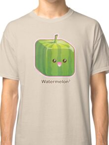Cute Square Watermelon Classic T-Shirt