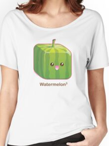Cute Square Watermelon Women's Relaxed Fit T-Shirt