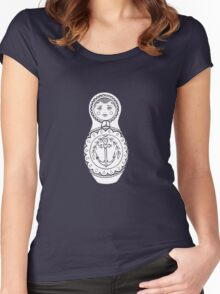 Matryoshka Doll Women's Fitted Scoop T-Shirt