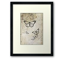 A collection of thoughts Framed Print