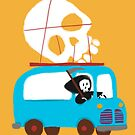 Death on wheels by Budi Satria Kwan
