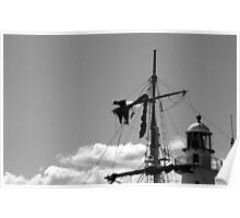 Man on the Mast Poster