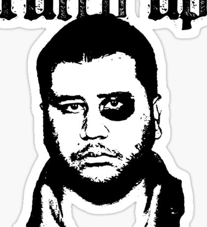 George Zimmerman - Roughed Up (2) Sticker