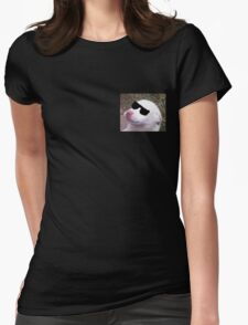 Cool Pupper Womens Fitted T-Shirt