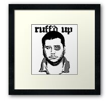 George Zimmerman - Roughed Up Framed Print