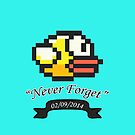 R.I.P. Flappy Bird by OMGitsSussy